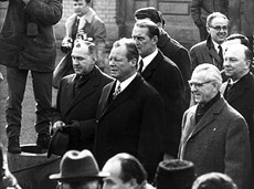 Willy Brandt und Willi Stoph